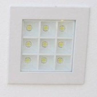 הייטק שקוע 9W 285 LED אור חם (20077)  מידות:  רוחב: 8  אורך: 15  גובה: 13  LED/9X1W אור חם