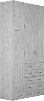 ארון בגדים 3 דלתות איכותי יוקרתי דגם שיק-גימור ברמה הגבוהה ביותר!   הארון מגיע עם מוט תלייה לקולבים   + 5 מגירות   גובה   240   רוחב   120   עומק   55   המוצר עשוי מחומר MDF   החומרים הינם בעלי תו תקן ישראלי.   * תתכן סטיה של עד 5% במידות המפורטות לעיל.   * מעל קומה 3 בהעמסה ידנית תהיה תוספת של 35 ₪ לקומה.   בכל מקרה של צורך בשרותי מנוף חיצוניים החיוב יחול על הלקוח.   הובלות מחיפה צפונה, מבאר שבע דרומה ומעבר לקו הירוק ייתכן עיכוב באספקה של 14 יום וכמו כן קיימת תוספת מחיר של 149 ₪ להובלה.   תקופת אחריות 12 חודשים   * התמונה להמחשה בלבד