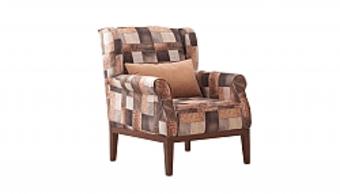 כורסא עיצובית יוקרתית מבד.   כורסא איכותית ברמת גימור ונוחות מושלמת.   הכורסא עשוייה מעץ מלא.   ניתן לקבל את הכורסא בצבעים שונים לפי בחירה.