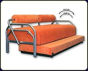 ספת על-קל עם מגן טף הנפתחת למיטה זוגית על ידי מנגנון על-קל, בעלת מזרנים קפיצים אורטופדיים וארגז מצעים , משולבת רגליים וגב ממתכת בגוון כסוף.   מידות: 80/190 נפתח ל- 190/160.   הספה מרופדת בבד מיקרו פאבריק-בד קטיפתי נעים למגע ודוחה כתמים   שילדה- עץ אורן מלא   כרית חתול מתנה   כל כרית נוספת בתוספת של 35 ₪   * מעל קומה 3 בהעמסה ידנית תהיה תוספת של 35 ₪ לקומה.   בכל מקרה של צורך בשרותי מנוף חיצוניים החיוב יחול על הלקוח.   הובלות מחיפה צפונה, מבאר שבע דרומה ומעבר לקו הירוק ייתכן עיכוב באספקה של 14 יום וכמו כן קיימת תוספת מחיר של 149 ₪ להובלה.