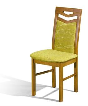 כיסא עץ דגם P-10  כיסא עץ איכותי מיוחד ומדהים במראה יוקרתי מאוד עם מושב וגב מרופדים וחיזוקים נוספים ברגליים.  הכיסא ברמת גימור גבוהה ביותר מיובא מאירופה .העץ והריפוד מגיעים במבחר גדול מאוד של צבעים וגוונים.