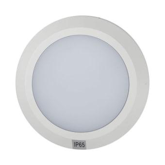 """צבע לבן  נורה לד  מידות  לומן  הספק  חומר  גוון 2700  מק""""ט LMS-60081-WH"""