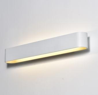 גוף תאורה LED צמוד קיר UP & DOWN מעוצב להארה דקורטיבית ולהארה מעל מראות.  מקור אור: SMD 25W 230V.  גוון אור: לבן חם 3000K.  אלומה: רחבה כלפי מעלה ומטה.  גוף: אלומיניום.  עדשה: פוליקרבונט.  ציוד: דרייבר 25W (כלול).  התקנה: צמוד קיר.  גימור: לבן מט.