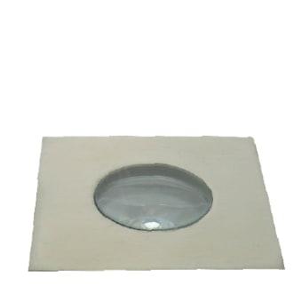 גוף תאורה שקוע רצפה מוגן מים להארה דקורטיבית או סימון.  מקור אור: POWER LED 1W 230V.  גוון אור: לבן חם.  כחול.  אלומה: 25 מעלות.  מסגרת: פלדת אל חלד.  גוף: אלומיניום.  עדשה: זכוכית מחוסמת שקופה.  ציוד: דרייבר 350MA 1W (כלול).  התקנה: שקועה בקופסת ביטון (כלולה) במשטח מוצק או בדק.  גימור: נירוסטה.