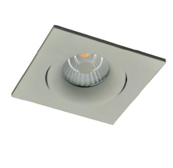 גוף תאורה ספוט שקוע מעוצב מתכוונן לנורות LED.  מקור אור: COB LED 6W 230V.  גוון אור: לבן חם.  אלומה: 30 מעלות.  גוף: אלומיניום.  עדשה: זכוכית שקופה.  רפלקטור: אלומיניום.  התקנה: שקועה.  ציוד: דרייבר 6W (כלול).  גימור: לבן מט.