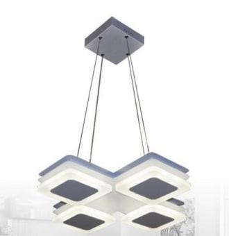 """דגם קיוב  power 40w  גוון אור - ניתן להשיג בגוון אור יום ובגוון אור חם  kelvin 6500k  לומן 3200  מידות גוף 45x45x100cm  דרגת אטימות ip20  CRI cri80  מק""""ט LMOM-CUBH4-40W-D  גוף תאורה תלוי בעיצוב ייחודי ודקורטיבי  כמות באריזה חיצונית-1"""