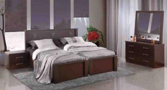 """חדר שינה עם הפרדה למגזר הדתי דגם BH 29 חדר שינה קומפלט בעיצוב שמרני הכולל: מיטה זוגית עם הפרדה יהודית בתוספת ארגזי מצעים + 2 שידות לילה + טואלט + מראה. ארגזי המצעים מרווחים עשויים סנדוויץ' להבטחת חוזק ועמידות, ארגזי המצעים מתרוממים באמצעות בוכנות הידרואליות איכותיות, משטח השינה עשוי עץ מלא וחזק במיוחד. חדר השינה בעל גימורים מעולים ופרזול איכותי במיוחד, חזק ועמיד לשנים רבות. החומרים הינם בעלי תו תקן ישראלי. חדר השינה מגיע במגוון צבעים להתאמה אישית. חדר שינה הכולל: מיטה עם הפרדה + ארגזי מצעים + 2 שידות לילה + טואלט + מראה בעיצוב מיוחד, ללא מזרנים. מידות בס""""מ: מיטה - רוחב: 170, אורך: 200. קומודה - רוחב: 97, גובה: 64, עומק: 40. שידה - רוחב: 50, גובה: 40, עומק: 40. מראה - רוחב: 90, גובה: 80. המחיר אינו כולל מזרנים, המידה למזרנים 190\80 (ניתן לקבל במידות שונות). צבעים: שמנת, מולבן, אגוז, אגס חום, שיטה, קוניאק, לבן או ונגה. 12 חודשי אחריות! המחיר נכון ל – 12 תשלומים ללא ריבית בכרטיס אשראי."""