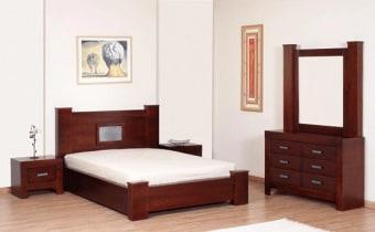 """חדר שינה קומפלט דגם פלורנטין מעץ מלא חדר שינה מעץ הכולל מיטה, 2 שידות, קומודה ומראה. ניתן לקבל את המיטה בגודל 140,150,160/190,200. מידות המיטה (למזרון בגודל 140/190): גובה: 100 ס""""מ. רוחב: 160 ס""""מ. אורך: 214 ס""""מ. מידות הקומודה: גובה: 73 ס""""מ. רוחב: 40 ס""""מ. אורך: 119 ס""""מ. מידות שידה: גובה: 54 ס""""מ. רוחב: 40 ס""""מ. אורך: 60 ס""""מ. מידות מראה: גובה: 100 ס""""מ. רוחב: 110 ס""""מ. ניתן לקבל במבחר גדול של גוונים. ניתן לקבל חלקים מחדר השינה. המחיר אינו כולל מזרון. אנא צור/צרי קשר טלפוני לבירור הגודל והגוון הרצויים."""