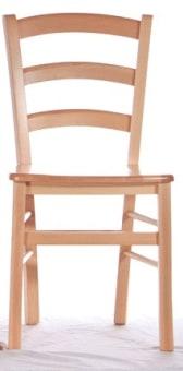 """כסא למטבח מעץ מלא. הכסא עשוי מבסיס עץ מלא, חיבורי הכיסאות הינם ע""""י ברגים כך שחוזקם לאורך זמן מובטח, מושב מעץ , מצופה בציפוי מיוחד נגד רטיבות וכתמים, קל לניקוי, נעים ונוח לישיבה ארוכה וסעודה נעימה. מיועד למטבח, למסעדות, בתי קפה ועוד. כסא קומפקטי וחזק במיוחד, מבנה המושב ייחודי ונוח לישיבה עם תמיכה מלאה לגב. הכסא עשוי עץ מלא חזק ומסיבי המקנה חוזק ויציבות לכסא. עץ בצבע דובדבן עם מושב עץ (כמו שבתמונה) או בגוון אמבויה כהה. מוצרי החברה מובלים ומורכבים ע''י צוות מקצועי . ניתן לשלם ב- 12תשלומים שוים ללא ריבית והצמדה."""