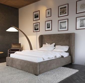 מיטה זוגית מרופדת דגם פלורנס + ראש מיטה מיטה זוגית מרופדת בעיצוב עדכני וחדשני, בעלת ראש מיטה מרופד. עבודת רפדות מקצועית ורמת גימור מושלמת. בסיס המיטה חזק ומסיבי נשמר לאורך שנים. המיטה מוגבהת מהריצפה על ידי רגלי עץ יפות, איכותיות וחזקות במיוחד. ריפוד המיטה מבד איכותי רך ונעים למגע, דוחה כתמים ונוזלים וקל לניקוי, או בריפוד דמוי עור משובח וקל לניקוי. המחיר הינו למיטה מרופדת + ראש מיטה המתאים למזרן במידה 140/190, לא כולל מזרון. ניתן להזמין במידות שונות. *אופציה לארגז מצעים בתוספת תשלום. 12 תשלומים שווים ללא ריבית והצמדה. לפרטים נוספים לייעוץ ולהזמנות:  ניתן לבחור ריפוד דמוי עור או בד. גוון דמוי עור לבחירה: גווני בדי ריפוד לבחירה: