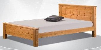 """מיטה זוגית דגם לוזון מיטה זוגית מאסיבית, מעץ אורן מלא בשילוב M.D.F. המיטה הינה מיטה מאסיבית וחזקה במיוחד, מעץ אורן פיני מלא שעבר תהליך מבוקר של יבוש ועיבוד בשילוב M.D.F. ראש המיטה גבוה המעניק מראה קלאסי ומרהיב למיטה. מידות חיצוניות בס""""מ: אורך: 209, רוחב: 148. גובה ראשי מיטה: 45/90. המיטה מתאימה למזרן במידה 190*140(סטנדרט). *המחיר הינו למיטה בלבד ללא מזרן. * אופציה לארגז מצעים בתוספת תשלום . ניתן לבחור כל אחד מהצבעים הללו לגוף המיטה: דמי ההובלה ישולמו ישירות למתקין באספקה."""