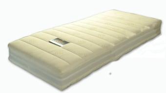 """מזרון דאבל פרימיום למיטה מתכווננת מבית MD מנדלבוים מזרון אורטופדי ללא קפיצים בשילוב שכבת ויסקוג'ל – Viscojel . מזרן אורטופדי דו צדדי, ' DOUBLE PREMIUM ', המבטיח נוחות מרבית הודות לשילוב בין חומרים איכותיים וטכנולוגיה מתקדמת. צידו האחד של מזרן דאבל פרמיום מורכב משכבת ויסקו ג'ל 80 בצפיפות גבוהה, בעוד צידו האחר של המזרן עשוי משכבת לטקס , 100% גומי טבעי – אנטי אלרגני ואנטי בקטריאלי, כאשר בין שתי השכבות מפרידה שכבת פוליאוריטן סגול גמיש. מזרן דאבל פרמיום עטוף באריג רך ונעים ובדופן משולב אריג space 3 תלת מימדי, המאפשר מעבר קל של אוויר מן המזרן החוצה ולהיפך, המעניקים לנו בקרת אקלים אידיאלית והמזרן נשאר יבש ורענן. המזרן מתאים גם למיטה רגילה. המחיר מתייחס למזרן במידה 80/200 בעובי 22 ס""""מ. ניתן להזמין בכל המידות. כל מזרני MD נושאי תו תקן ISO בינלאומי."""
