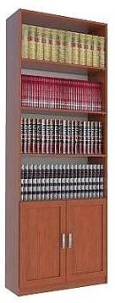 """כוננית, ספריה, ארון קודש דגם  TAMAR  , לספרים, לקלסרים או לכל מטרה אחרת, עשוייה עץ סנדביץ, בגימור פורמיקה במבחר גוונים.  מרכיבי הכוננית עשויים מחומרים בעלי תו תקן ישראלי.  מידות חיצוניות:  רוחב 80 ס""""מ,  עומק 32 ס""""מ,  גובה 230 ס""""מ.  ניתן לבחור מדפים עשויים  MDF  בעובי 28 מ""""מ (מומלץ) או עץ סנדוויץ בעובי 17 מ""""מ. (בשדרוג למדפי  MDF  יוחלפו רק המדפים הניידים).  הידיות בתמונה להמחשה בלבד, יסופק עם ידיות שבמלאי.  ניתן לשדרג את  הידיות  בתשלום."""