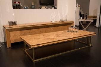 """מזנון ושולחן סלון דגם """"קריסטין"""""""