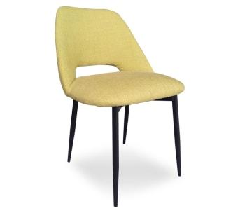 """כיסא מעוצב בסגנון רטרו רוחב: 58 ס""""מ אורך: 54.5 ס""""מ גובה: 80 ס""""מ"""