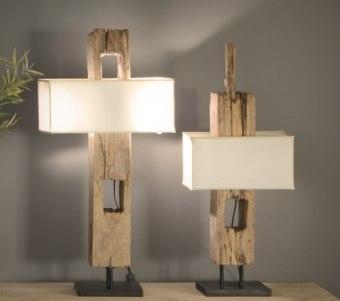 """מנורת שולחן מעץ במגוון גדלים ועיצובים רוחב: 0 ס""""מ אורך: 0 ס""""מ גובה: 0 ס""""מ"""