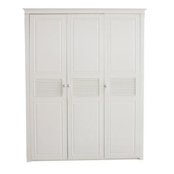 ארון 3 דלתות  A113F-3A 'ארון וינטאג  מידות :  1681*648*2160  צבעים: אופוויט