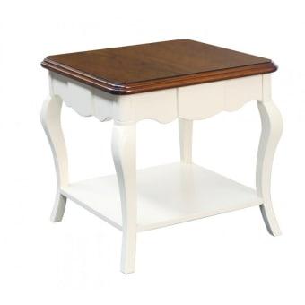 שולחן סלון וינטאג' F1720  מידות: 600*600*580