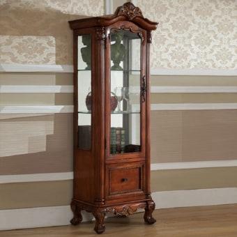 """ויטרינה איכותית העשויה מעץ  צבע הויטרינה הינו עץ  מידות:178*41*60.2 ס""""מ   ויטרינה 0091"""