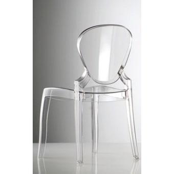 כיסא שקוף מעוצב בטוב טעם    כיסא 1998