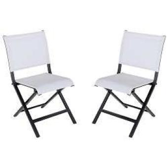 ·  כסא מתקפל עם מסגרת מאלומיניום בצבע שחור וריפוד בד טקסליין בצבע אפור בהיר  .  מידות - 52  X45X83    כיסא מתקפל ממסגרת אלומיניום
