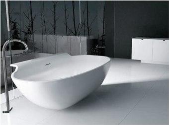אמבטיה אבן מלאכותית כמו מפל      גודל: 90*180
