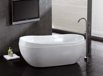 אמבטיה מונחת      מידות- 177*82      גובה 77