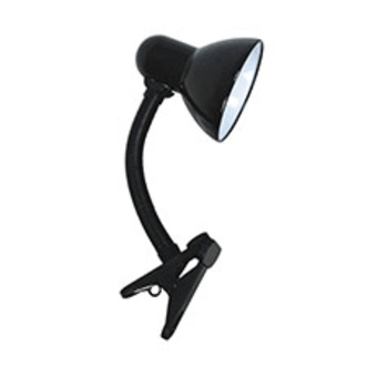 """מנורת קליפס E27 GARDA שחור  תיאור  מנורת קליפס E27 GARDA בצבע שחור    ניתן לחבר כל נורה בהספק של עד 40W    זרוע מתכווננת ממתכת    כולל מפסק    כולל כבל באורך 1 מטר ותקע  סוג בית נורה  E27  הספק  40W מקסימום  צבע  שחור  מתח  230V  מידה  גובה 100 מ""""מ / 10 ס""""מ  כמות יחידות בקרטון  12  קטגוריה (שימוש)  מוצרי ה  תת קטגוריה  מנורות  קוד מוצר  SM-CSL010/BK  ברקוד  7291044072259"""
