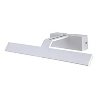 """מנורת קיר לד DL 9W דגם LANTIS  תיאור  מנורת קיר לד LANTIS DL 9W    גוף ה דקורטיבי צמוד קיר.מתאים להתקנה למראות, ליצירות אומנות,    משרדים, חדרי ישיבות.    גוף-אלומיניום בצבע לבן    ציוד חשמלי-דרייבר  זוית פיזור  120  מידות  L58*W9*H6.5 CM  אורך  58cm  גובה  6.5 ס""""מ  רוחב  9 ס""""מ  גוון אור  אור יום (לבן)  לומן  700lm  הספק  9W  כמות יחידות בקרטון  10  קוד מוצר  SM-CL715/9DL  ברקוד  7291044071696"""