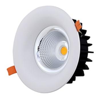 """שקוע לד עגול דגם פז פרו CW 30W לבן+דרייבר  זוית פיזור  38  CRI  75  מידות  D: 170mm , H:81mm  גוון אור  אור קר (לבן)  משך חיים  30000  הספק  30W  לומן  2400  צורה  עגול paz  מידות חיתוך  180 מ""""מ  כמות יחידות באריזה  1  ברקוד  7291044071320  קוד מוצר  SE-WD30/CW  תיאור  שקוע לד עגול דגם פז פרו CW 30W לבן+דרייבר"""