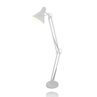 """*מחיר גוף התאורה אינו כולל נורות  סוג נורה:  מנורת הברגה E27 מומלץ להשתמש בנורות חסכוניות (מקסימום 40W)  מידות גוף התאורה:  קוטר אהיל: 30 ס""""מ  גובה: 190 ס""""מ (פתיחה מקסמלית כאשר האהיל מופנה כלפי מטה)"""
