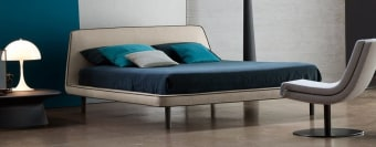מיטה מעוצבת זוגית (מודרני) - דגם Joe  מיטה זוגית קלילה ואלגנטית בעלת עיצוב פשוט ונקי