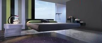 מיטת יחיד / נוער איטלקית Campo  מיטת יחיד / נוער בעלת ראש מיטה מעוצב מרופד ורך במיוחד
