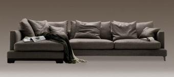 ספה רכה במיוחד עם שזלונג Lazytime  ספה רכה ונוחה במיוחד עם שזלונג המאפשר ישיבה עמוקה ואף שינה נוחה על הספה