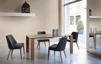 שולחן פינת אוכל מודרני נפתח Maxim  שולחן אוכל מודרני נפתח המגיע במגוון מידות וחומרי גלם