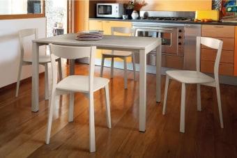 """שולחן אוכל מודרני נפתח Web  שולחן אוכל מודרני נפתח בעיצוב פשוט ונקי המגיע במגוון צבעים וחומרי גלם  Web הוא שולחן פינת אוכל נפתח בעיצוב פשוט ונקי מבית מותג ריהוט היוקרה האיטלקי Domitalia, המגיע במגוון צבעים וחומרי גלם.  זמין במידות : 90×90 ס""""מ , נפתח ל 1.35 מ'. / 1.20×0.80 ס""""מ, נפתח ל 1.76 מ'. / 1.40×0.90 מ' , נפתח ל 2.30 מ'."""