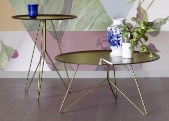 שולחן סלון מודרני (קפה) מודולרי בחומרים שונים  שולחן קפה קל ונייד המעוצב על ידי Cristiana Giopato