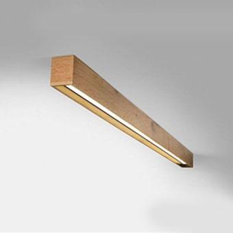 גוף תאורה צמוד לתקרה , ניתן להזמין בגווני עץ שונים, מתאים במיוחד כתאורת מטבח