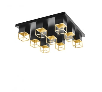סוג נורה LED אורך 60 ס״מ עוצמה GU10 רוחב 60 ס״מ מספר נורות 9 גובה 17 ס״מ קלווין 3000K גוון אור warm white שטף אור 400 לומן תקופת אחריות שנתיים