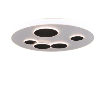 סוג נורה LED קוטר 90 ס״מ עוצמה 140W קלווין 3000K מספר נורות SMD גוון אור warm white שטף אור 4800 לומן תקופת אחריות שנתיים
