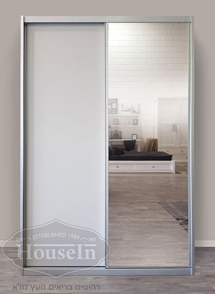 מדהים ארונות הזזה - חדר ילדים | ארון דלתות הזזה עם מראה דגם אוריה | intério WH-15