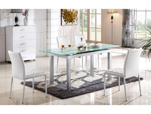 שולחן לפינת אוכל מזכוכית דגם 811