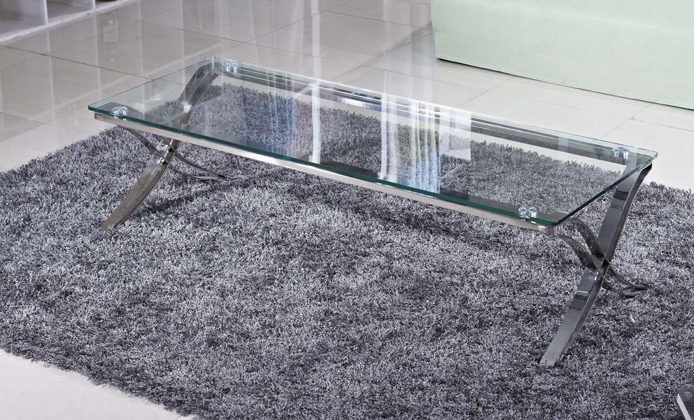 להפליא שולחן קפה | שולחן סלון זכוכית דגם 755 A | intério FU-41