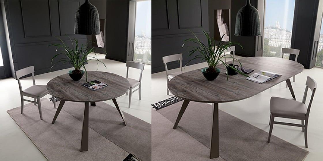 שולחן עגול נפתח Convivio