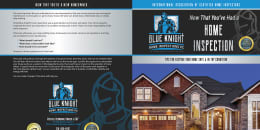Blue Knight Home Inspections book cover.