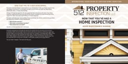 Custom Home Maintenance Book for 512 Property Inspection
