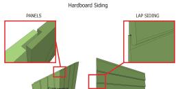 Hardboard Siding