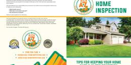 Custom Home Maintenance Book for A-Z Home Inspections