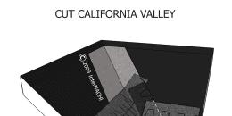 Cut California Valley