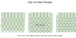 Clay and Slate Shingle